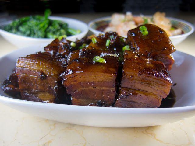 Shanghai Red Cooked Pork Hock 紅燒蹄髈   Foodmanna