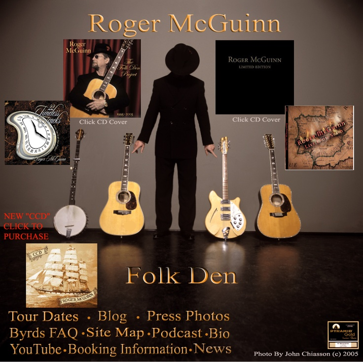 Roger McGuinn's one man crusade to keep traditional folk songs alive.