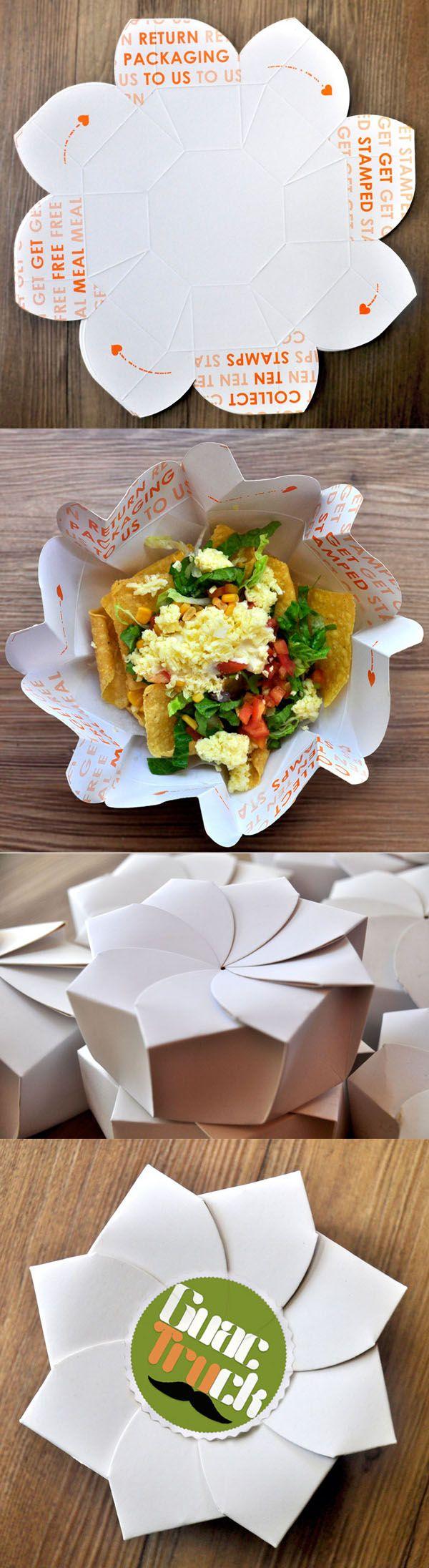 Sustainable Origami Food Box