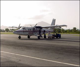 St. Kitts – Nevis Welcomes Return of #WINAIR Flights.  How about some more #flights to #Nevis?