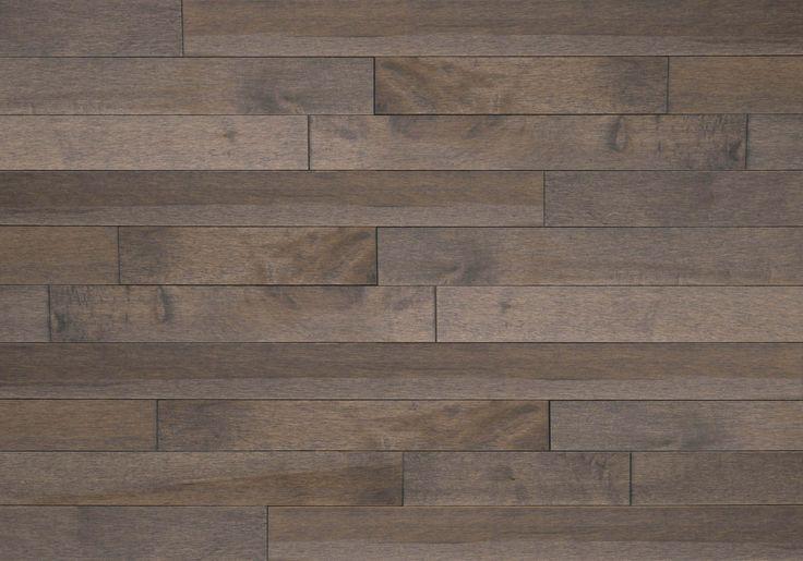 Découvrez les planchers de bois franc Lauzon avec notre Gris fumé. Ce magnifique plancher d'Érable de notre collection Essential saura rehausser votre décor grâce à ces riches teintes grises, ainsi qu'à sa texture lisse et son aspect classique. Nos planchers d'érable sont Certifiés-FSC®.