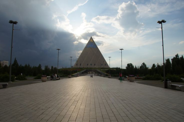 Pyramid in Astana, Palace of Peace and Reconciliation #astana