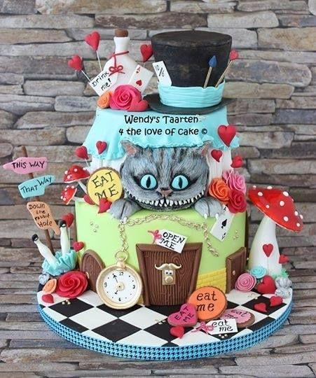 1245 best images about Wonderland Cakes on Pinterest ...