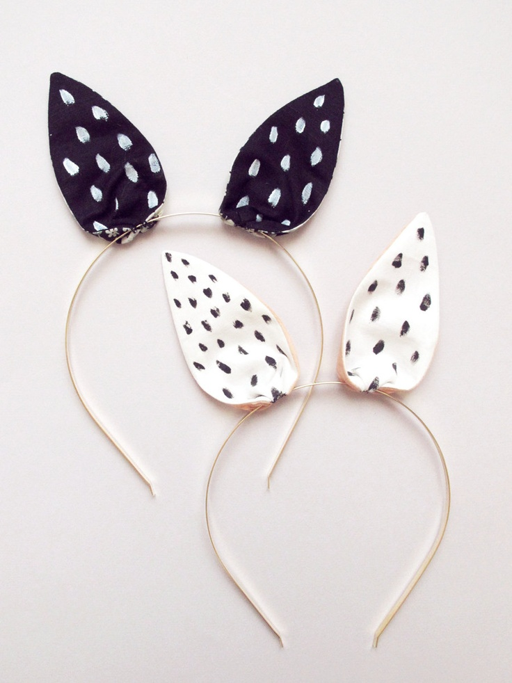 Bunny Headband by lucille michieli