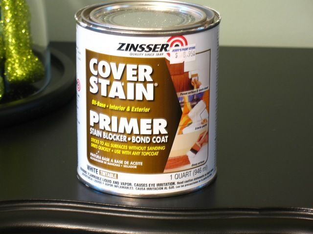 Liquid sandpaper in a can.. Painting wood furniture without sanding