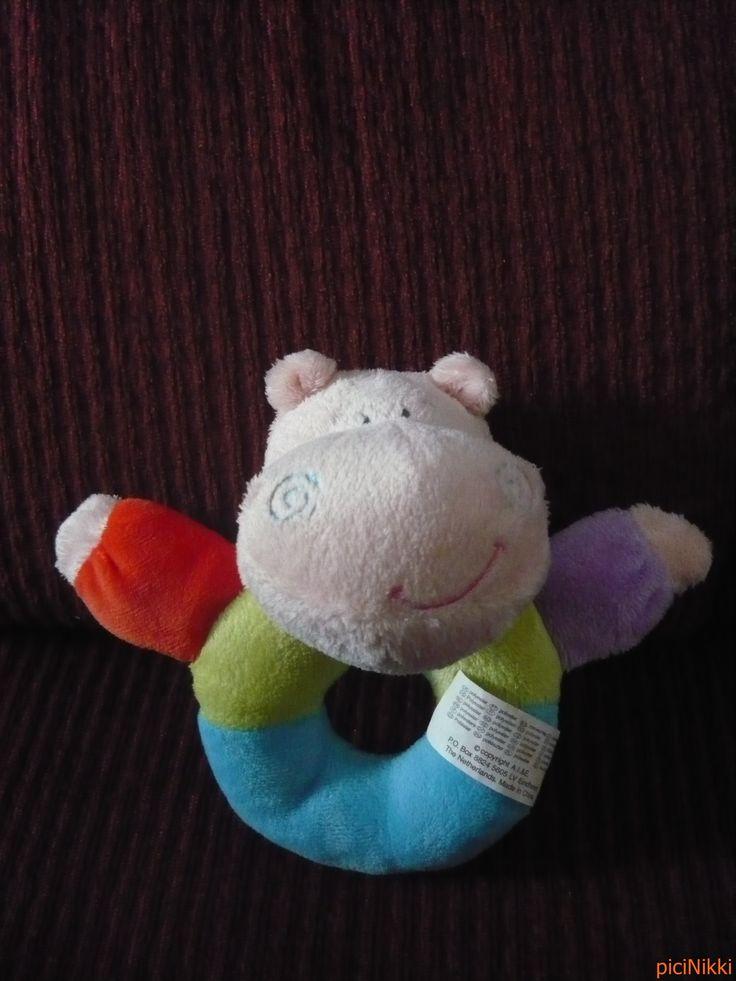 No. 212   víziló   hippo   plüss   plush   csörgő   rattle