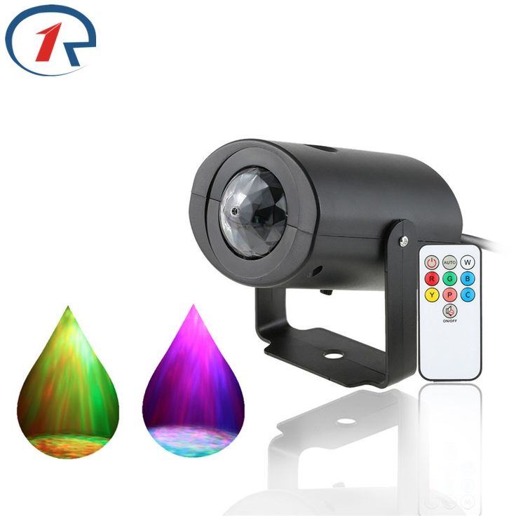 13.99$  Watch here - http://alixt5.shopchina.info/go.php?t=32799617949 - ZjRight IR Remote Water Wave Projector Led Stage Light Red Green Blue colorful Flash effect for KTV Party Disco Bar dj lighting 13.99$ #aliexpressideas