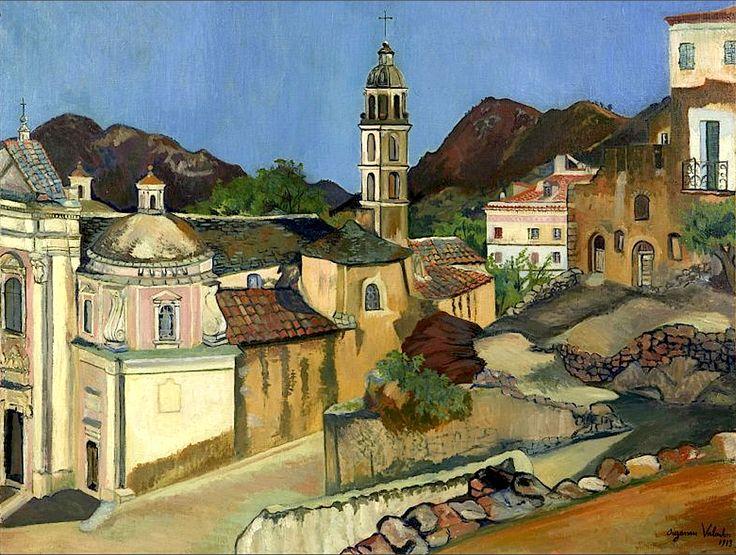 Suzanne VALADON (1865-1938) - L'Eglise de Belgodere, Corse, 1913