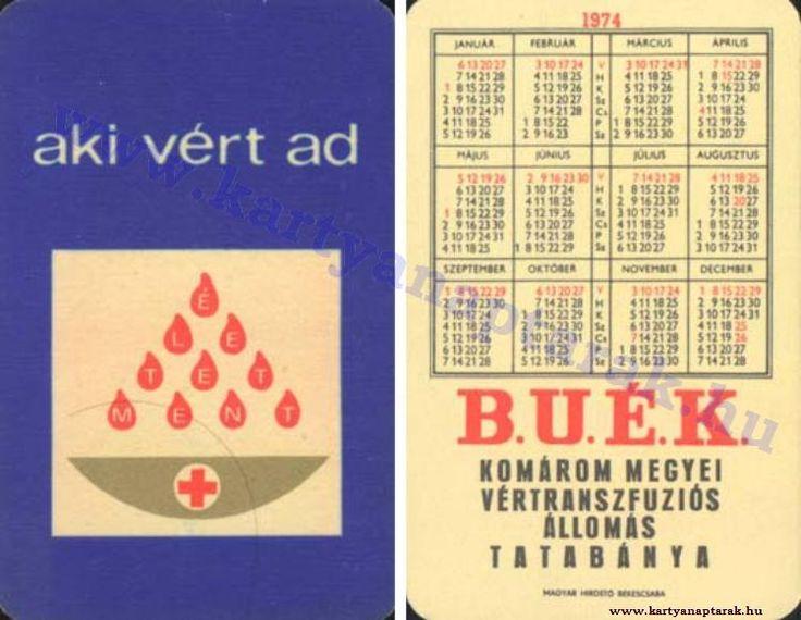 1974 - 1974_0736 - Régi magyar kártyanaptárak