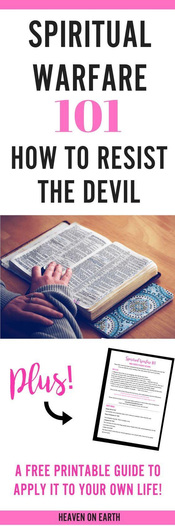 Spiritual Warfare 101 How To Resist The Devil