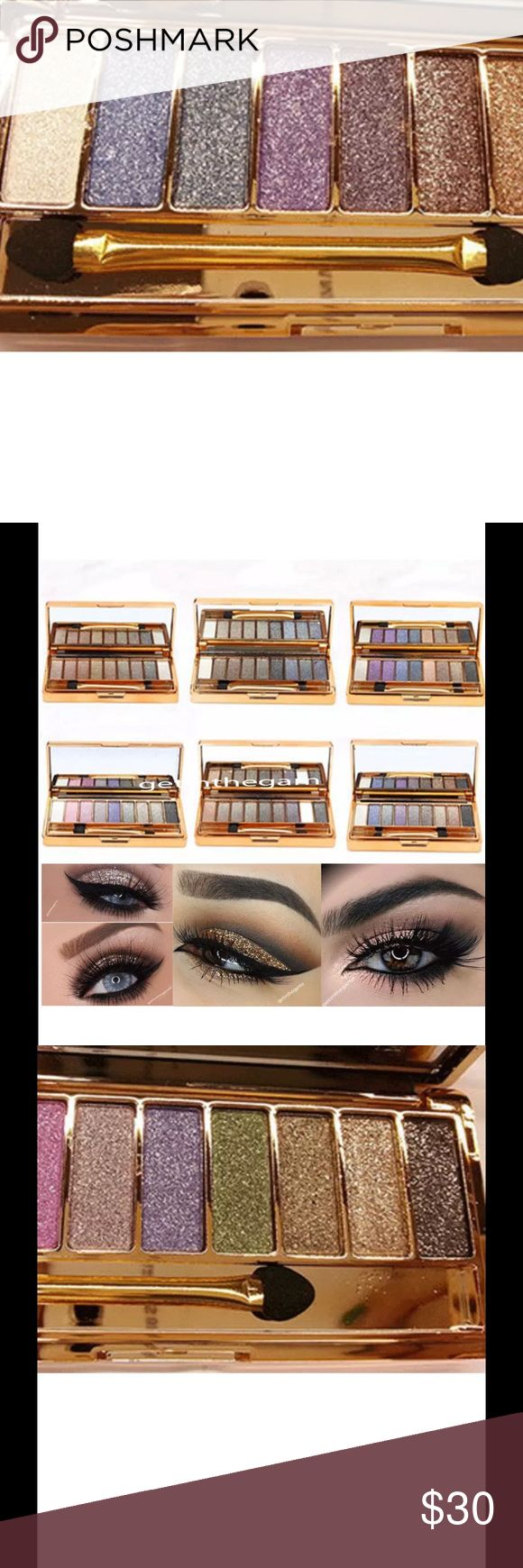 9 Colors Shimmer Eyeshadow Palette & Cosmetic Set This wonderful 9 colors eyeshadow palette is brand new and made of high quality ingredients, quite pigmented and vibrant, easy to match your look. It is the best choice for professional salon or home use. unbranded Makeup Eyeshadow