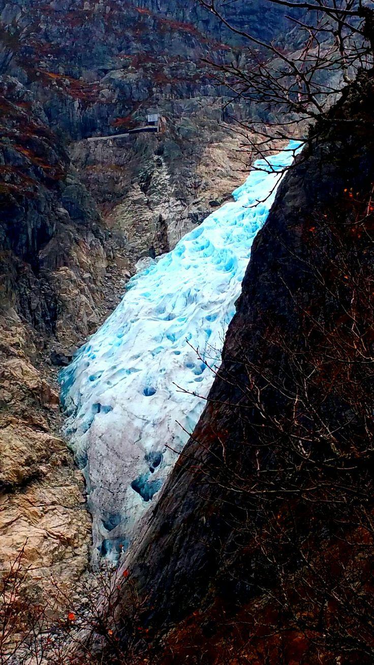 Folgefonna, Botnabreen, climbing, glacier, isklatring