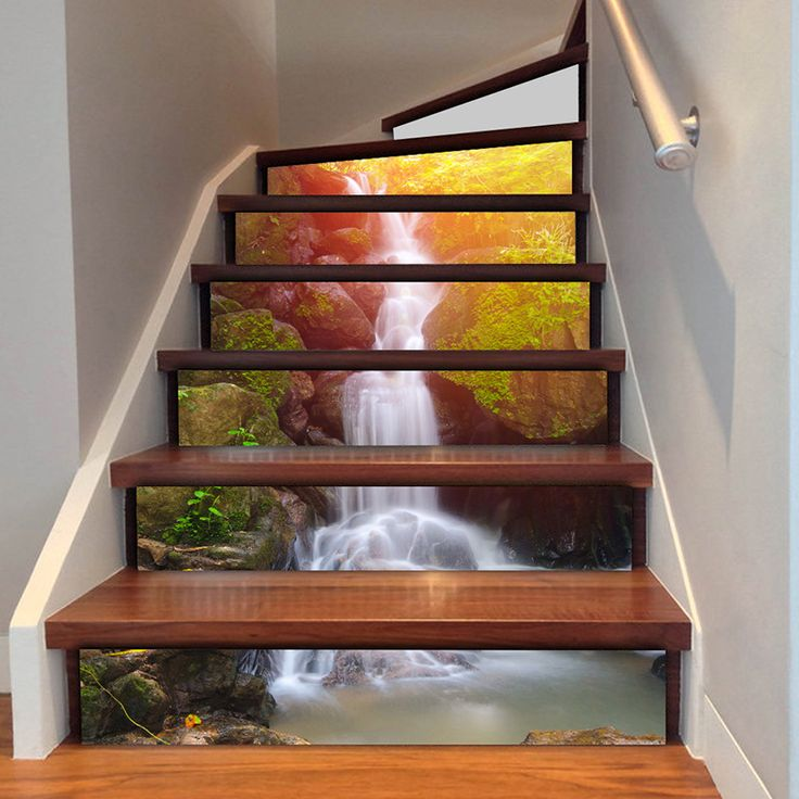 3D Waterfall Stair Sticker    $ 28.62 and FREE Shipping    Tag a friend who would love this!    Buy one here---> https://memorablegiftideas.com/3d-waterfall-stair-sticker/    Active link in BIO      #giftideas #MGiftideas #fashion #style #tech 3D Waterfall Stair Sticker