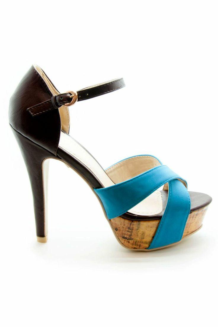 Mavi Süet Platform Topuklu Ayakkabı | En Yeni En Şık Topuklu Ayakkabı Modelleri | Trendy Topuk | Topuklu Ayakkabı | 150 TL ve üzeri alışverişlerinizde Kargo ücretsiz