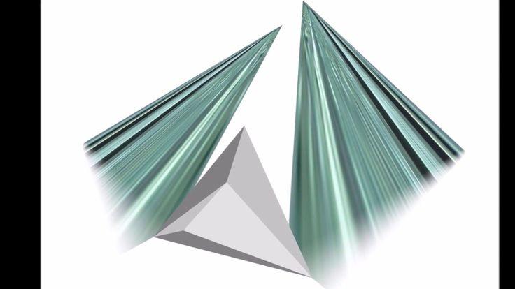 """Glass"" Sculpture TWIN – Picture Elements Inspiration Jiri Karel"