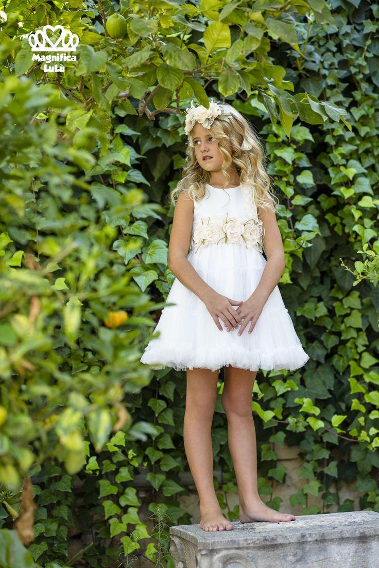 #vestido #ceremonia #magnifica #lulu #modainfantil
