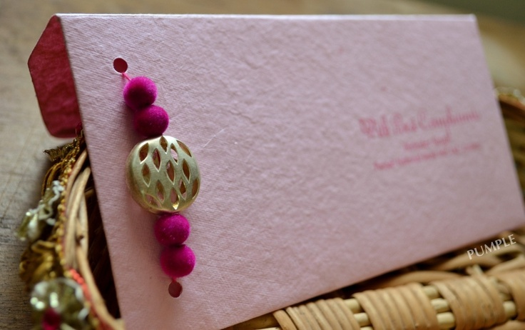 Shades of Pink with a Silver metal brooch