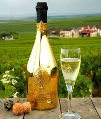 Armand De Brignac, Rated the No1.  Champagne in the world.