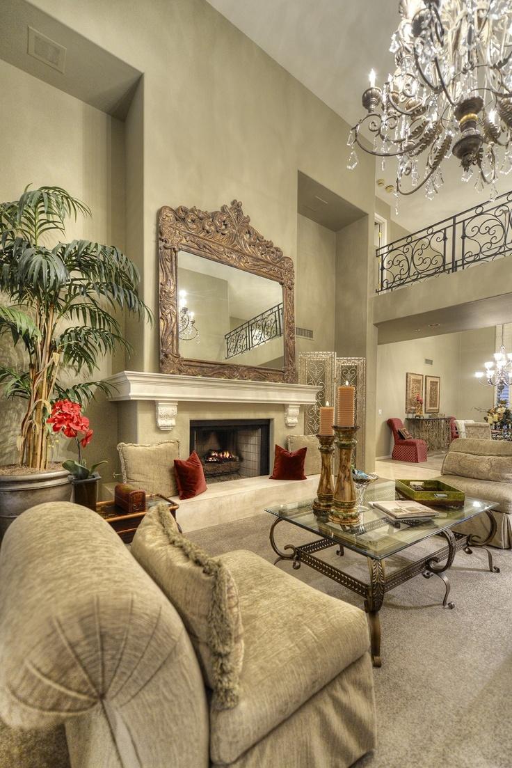 Stunning And Elegant Living Room In Scottsdale Arizona
