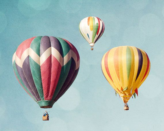 Drifting off: Hot air balloons |  Photograph by Zila Longenecker,