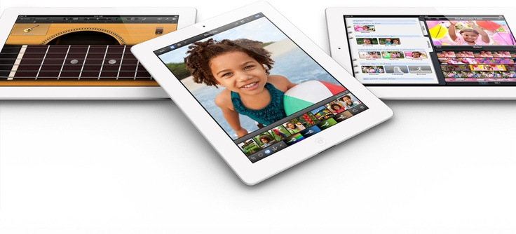 Apple - The new iPad(3rd generation): White, 32gb, wifi only.-available at apple stores, walmart, best buy, etc.($599)