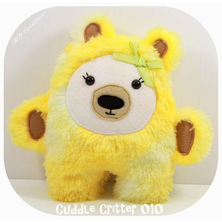 $25.00 Cuddle Critter 010 by bdcreations on Handmade Australia