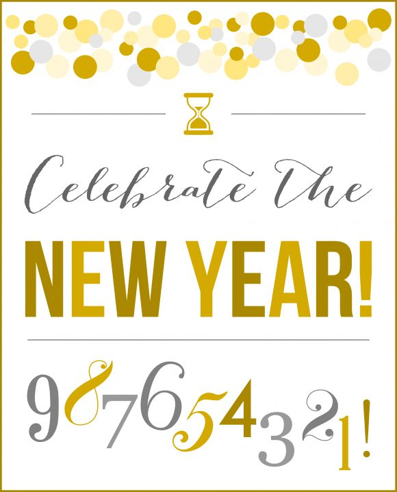 free new years party printables free printables new years party pinterest new years eve party printables and party