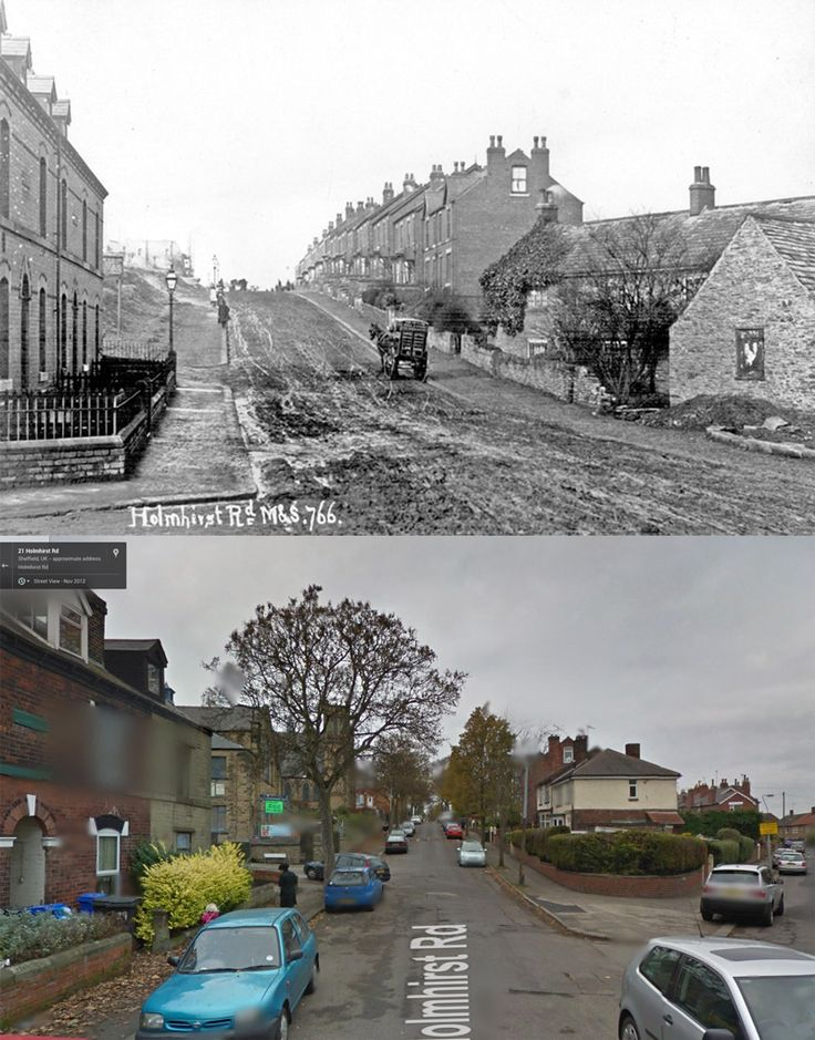 Holmhirst Road, Woodseats, #Sheffield past and present