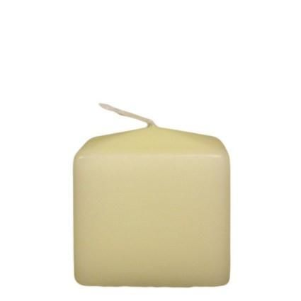 Church Candle - Square - 60 x 60 x 60mm - Emmazing Essex Homewares