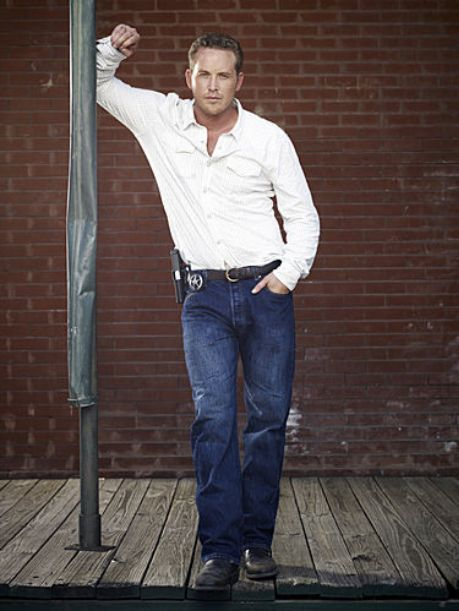 Photo of 'Chase' Photoshoot for fans of Cole Hauser. Hauser photoshoot for 'Chase', 2010