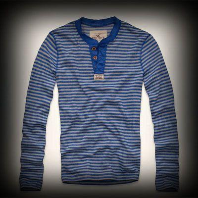 Hollister メンズ ヘンリーポロシャツ ホリスター Balboa Island Henley ヘンリー ポロシャツ ★アーティスト・セレブも愛用の人気ブランドHollister今季新作アイテム。アメリカ西海岸のサーフスタイルをベースにしたカジュアルなアイテムが豊富。 ★個性的な配色使いのストライプ柄をお洒落に着こなしてみませんか?