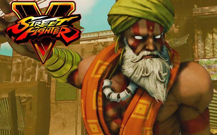 V Street Fighter Character Mods   ... Story Mode - Dhalsim Full Gameplay Walkthrough (Street Fighter V