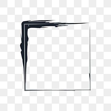 Ink Paint Black Square Frame Border Border Clipart Photo Card Png Transparent Image And Clipart For Free Download Bingkai Foto Bingkai Desain Sampul Buku