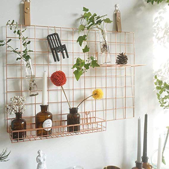 Anzome Gitter Pinnwand Diy Metall Foto Wand Gitter Dekoration Und