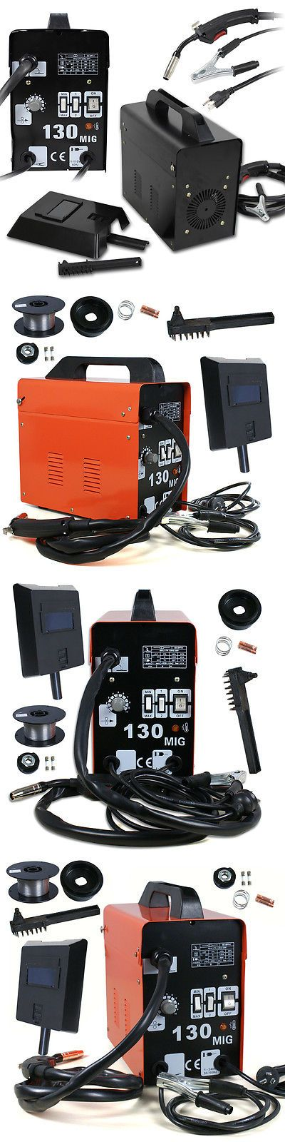 Welding and Soldering Tools 46413: Gas Less Flux Core Wire Welder Welding Machine Cooling Fan 110V Mig-100 Mig-130 -> BUY IT NOW ONLY: $81.85 on eBay!