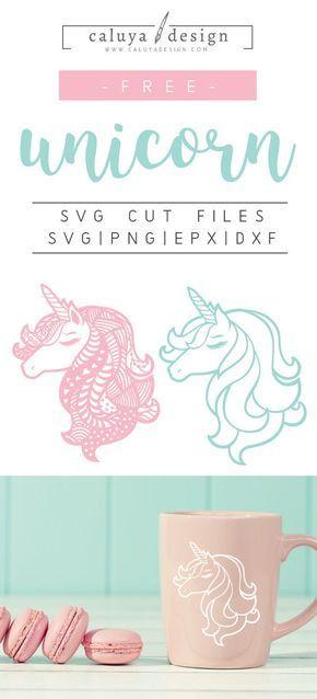 FREE Unicorn Mandala SVG, DXF, PNG & EPS by | unicorns | Svg