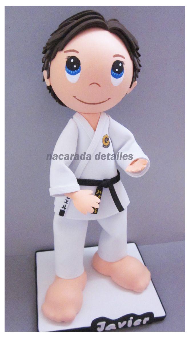 fofucho karateka de nacarada detalles