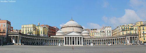 Piazza Plebiscito - Napoli (Naples, Italy)