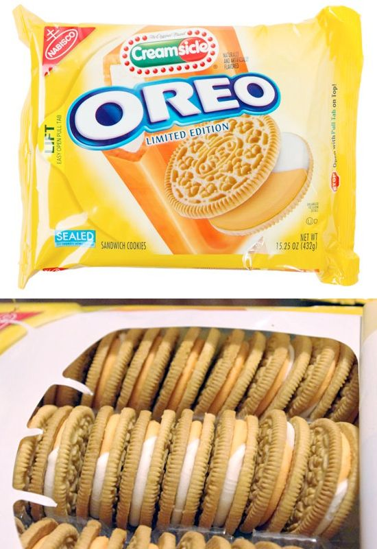 22 Awesome Oreo Flavors http://www.kidskubby.com/22-weird-oreo-flavors/6/