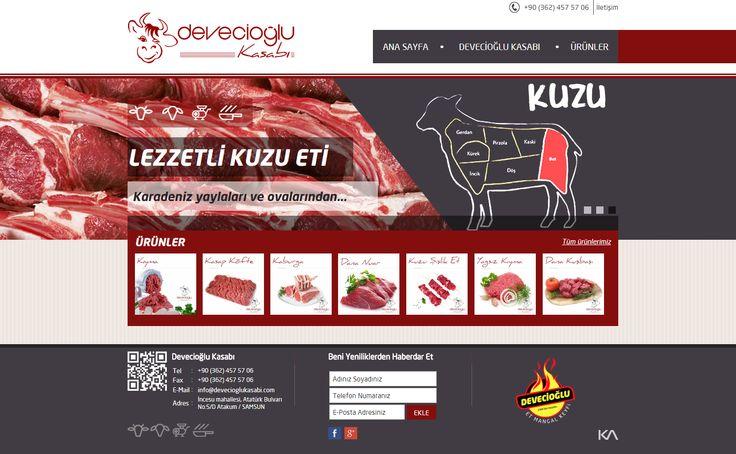 Devecioğlu Kasabı   Web Design