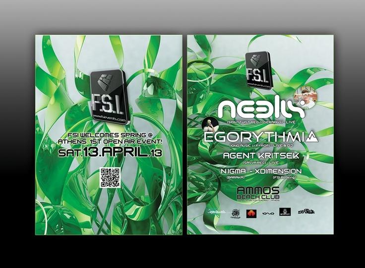fsi events Promo Print Flyer design by AlexNeuf