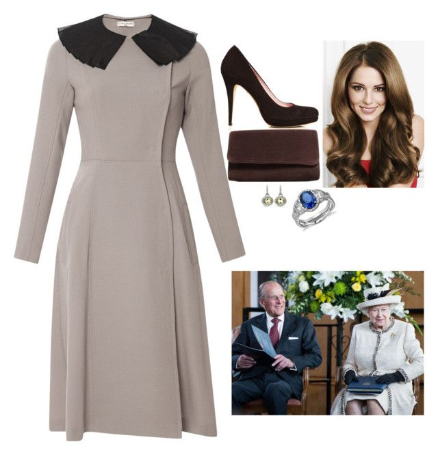 """""""Visiting Felsted School and Unveiling two Plaques to Commemorate the School's 450th Anniversary with the Queen and the Duke of Edinburgh"""" by fashion-royalty ❤ liked on Polyvore featuring Natasha Zinko, MaxMara and Blue Nile"""