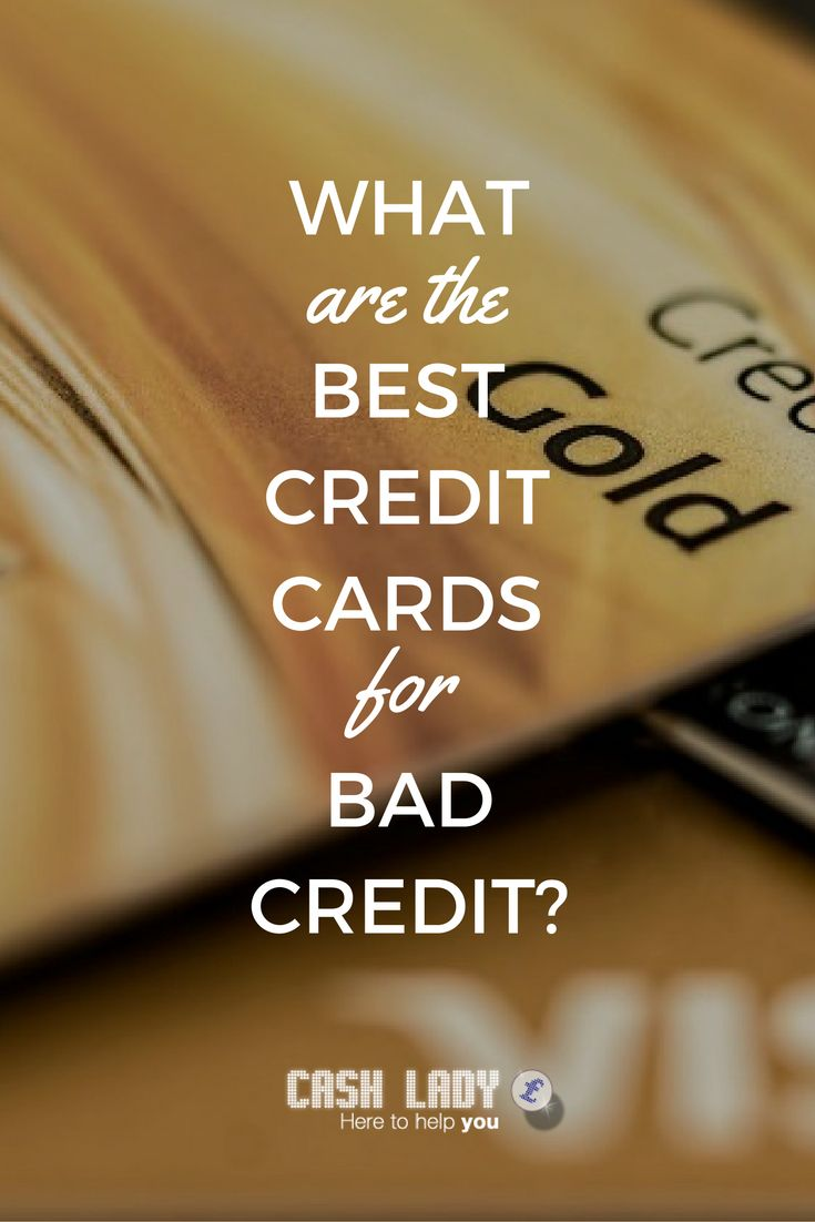 credit cards for poor credit visa