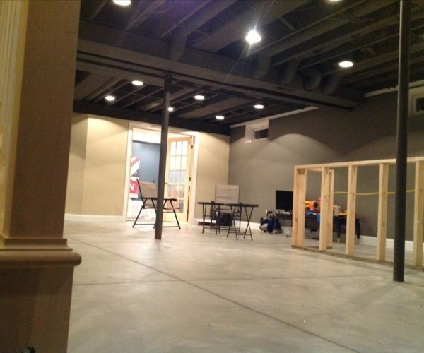 1000 Ideas About Basement Floor Paint On Pinterest: 1000+ Ideas About Basement Ceiling Painted On Pinterest