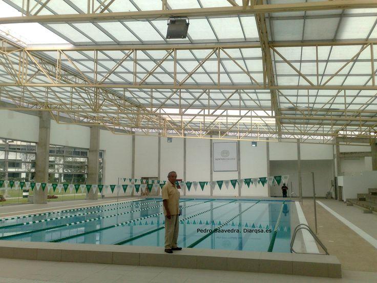 13 best techos en policarbonato y aluminio images on pinterest for Estructuras para piscinas