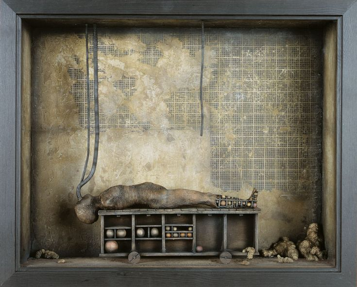 Oscar SanMartin Vargas | art collage box | Assemblage Art ...