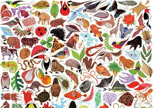 Probably My Favorite Print of All Time. Tree of Life by Charley Harper.