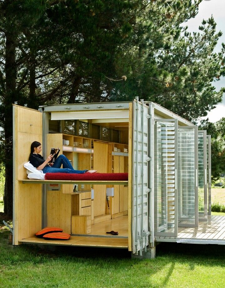 Cozy container home