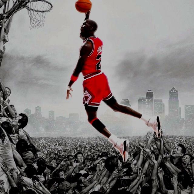 the latest 007b2 a451b ... Fathead Wall Decal Michael Jordan Chicago Bulls ...
