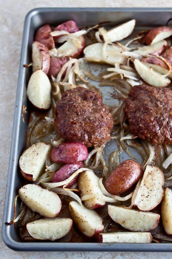 Salisbury Steak and Potatoes